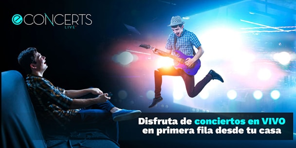 Disfruta de conciertos en VIVO